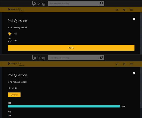 Bing Pulse app