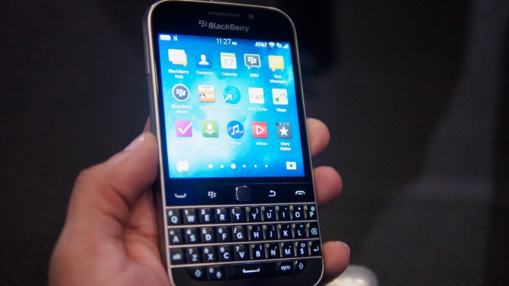 BlackBerry Classic Hands-On: Old school may not be so bad