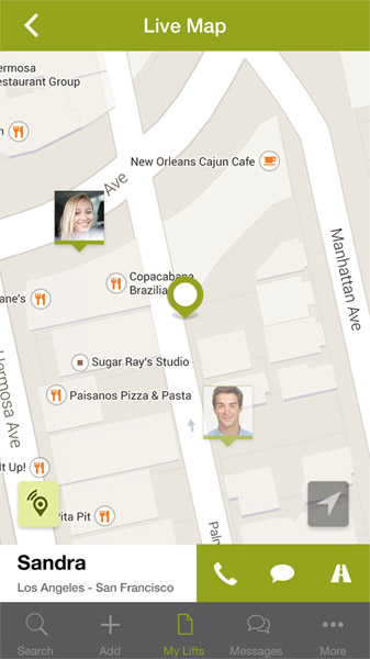 Carpooling.com screenshot