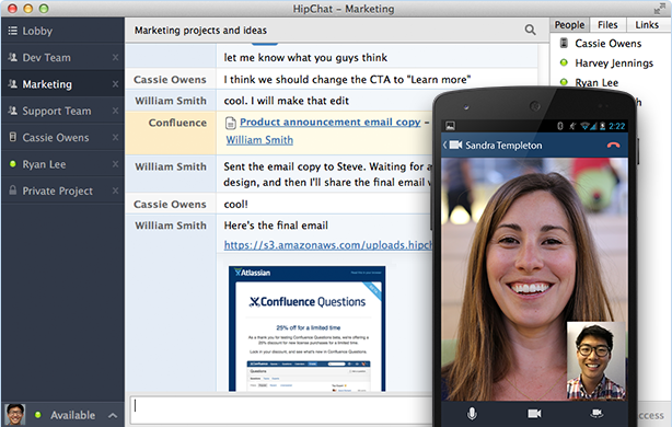HipChat (free version) download for PC