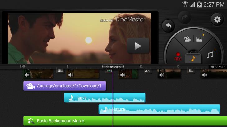 (KineMaster) Screenshots_ audio effect