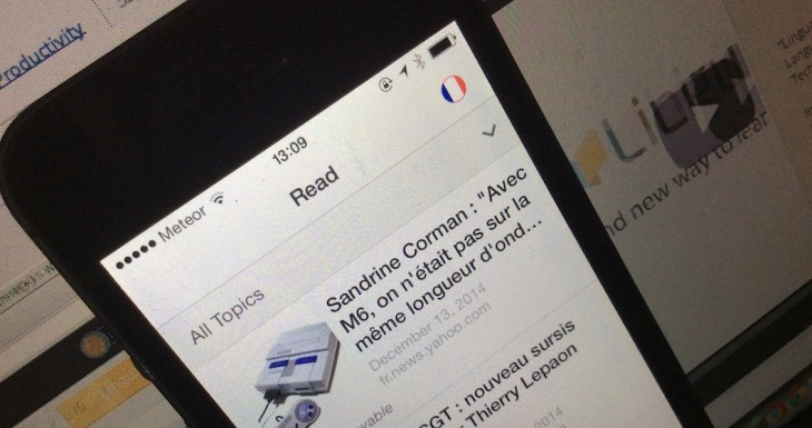 Lingua.ly brings language learning through foreign news articles to iOS