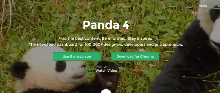 Panda's news and inspiration aggregator gets customizable layouts, a preview mode and more