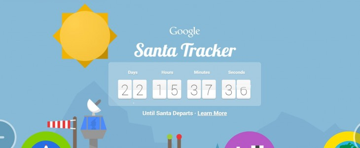 Google's Santa Tracker is back with new coding courses, geography games and more