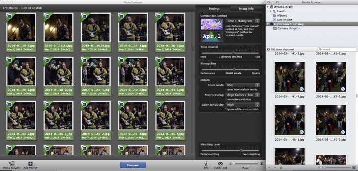 Photosweeper Screen