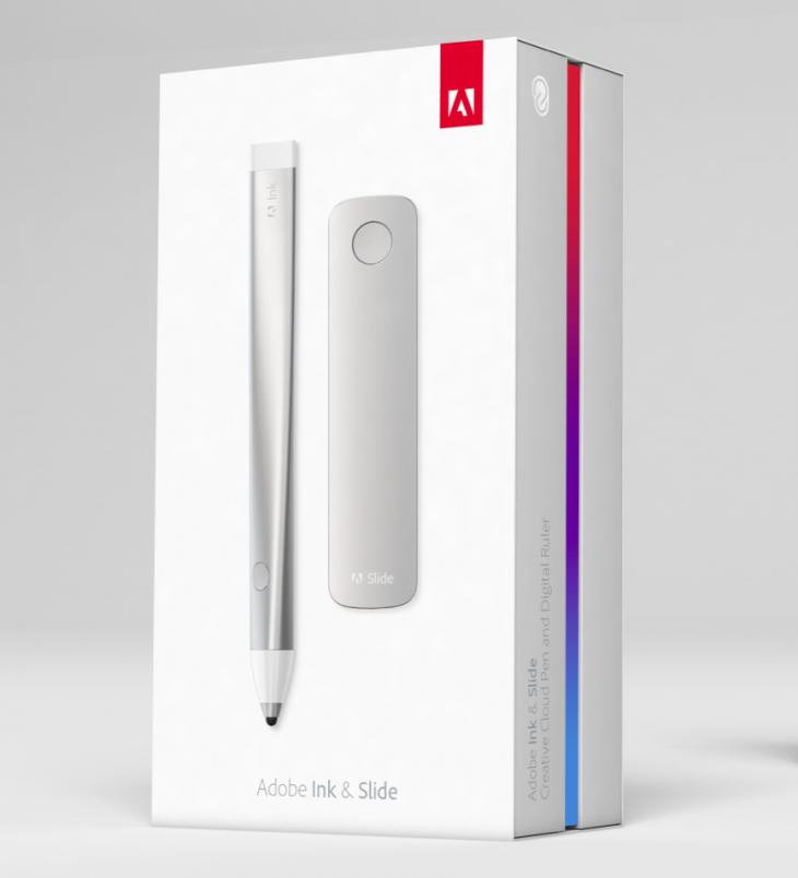 Adobe Ink and Slide box