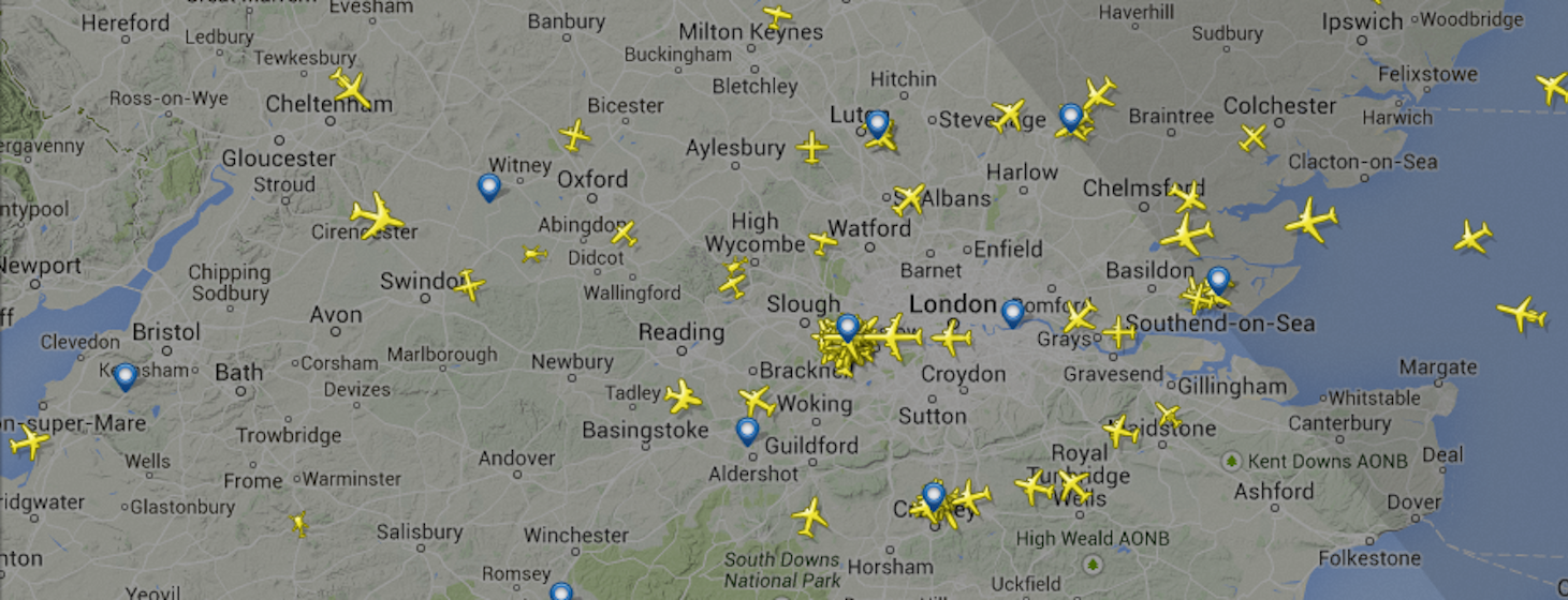 London Airspace Closed Due To Computer Failure