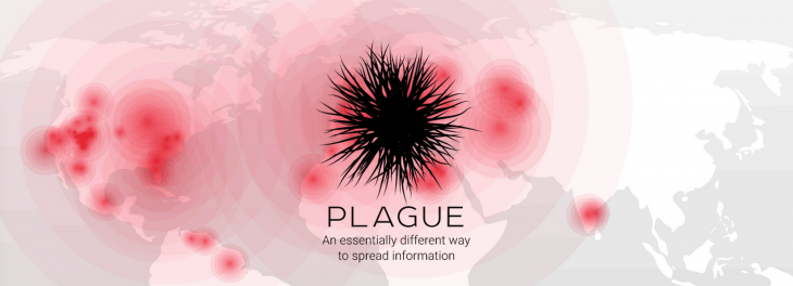 "Plague is a new app for ""infecting"" users with information"
