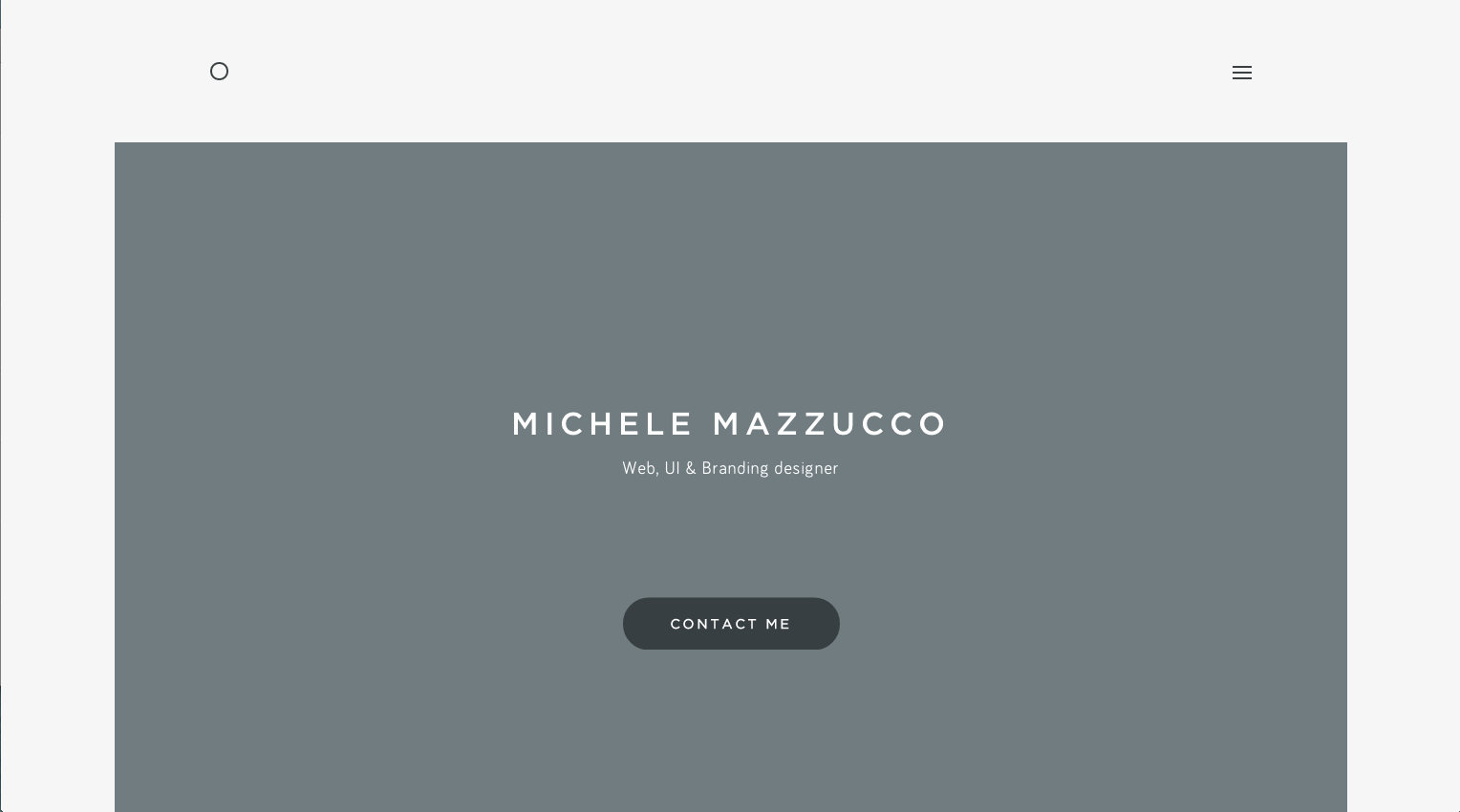 Modern colors web design - 5 Fix Width Centered Site Layout