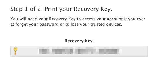 Here's How to Get a New Apple Recovery Key