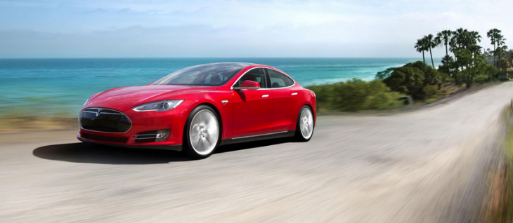 Elon Musk promises automatic 'solid metal snake' chargers for the Tesla Model S