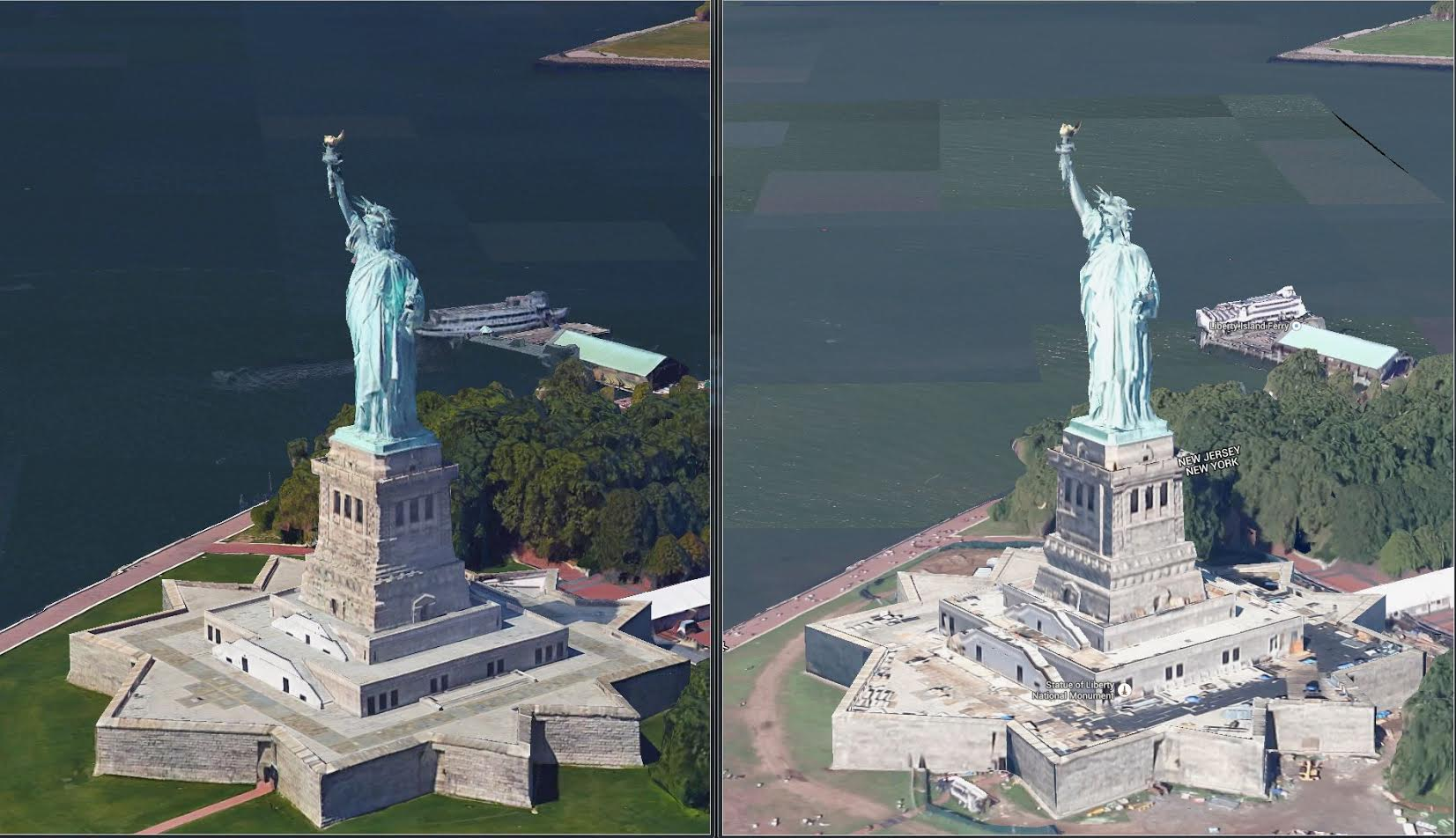 Google Maps Earth View Mode Updated With High Res 3d Models