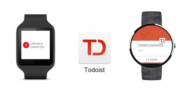 Todoist's productivity tools arrive on your wrist with Android Wear support