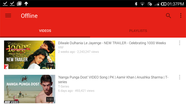 Youtube For Android Adds Offline Playback In Three Asian Countries