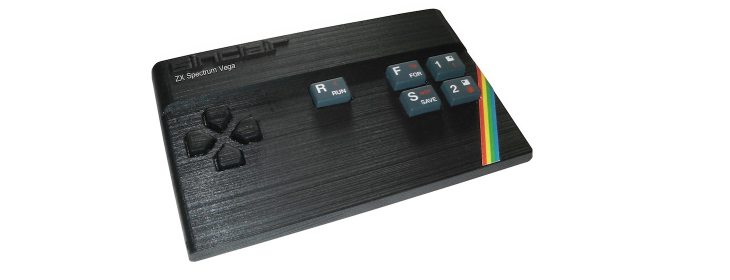 Meet the ZX Spectrum Vega: 80s computing nostalgia revived for charity
