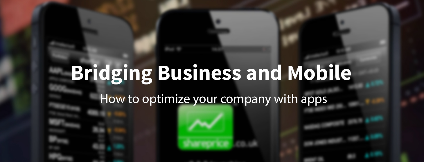 How to Optimize Your Business with a Mobile App
