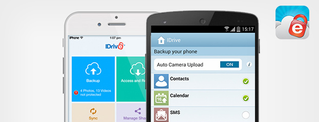 Get a lifetime of unlimited mobile backup from iDrive… for just $10