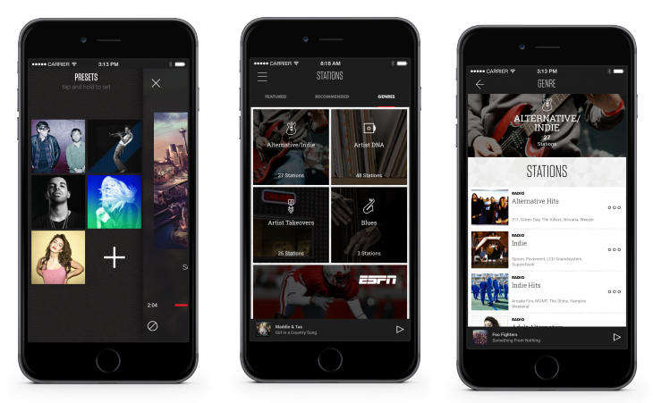 Slacker Radio redesign now rolling out on iOS and desktop, bringing dedicated channels for Web celebs ...