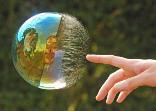 perfect timing bubble