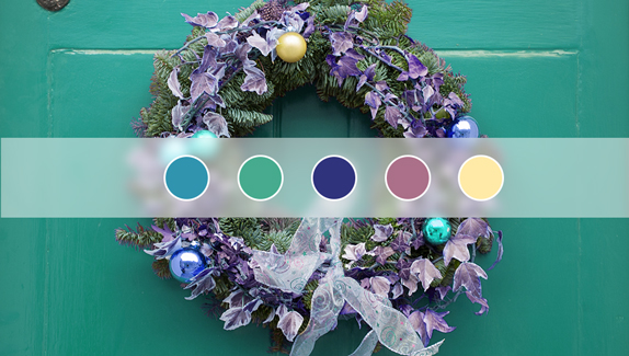 3 Non-Traditional Color Palettes for the Holiday Season