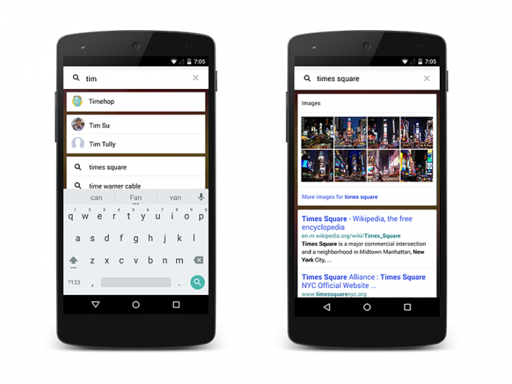 Yahoo's Aviate launcher for Android gets universal search