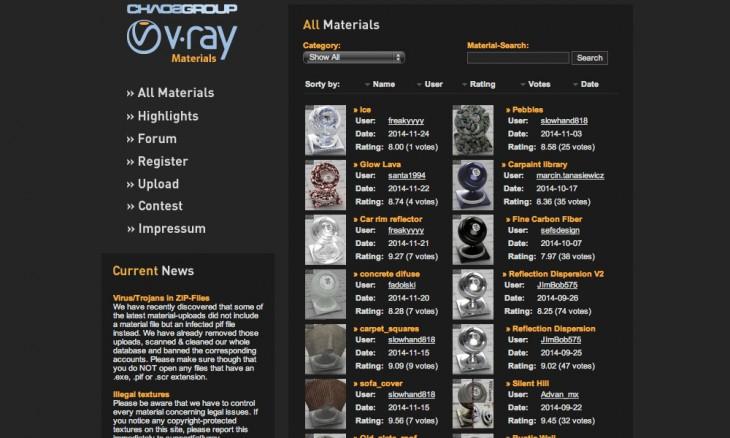 vray-materials