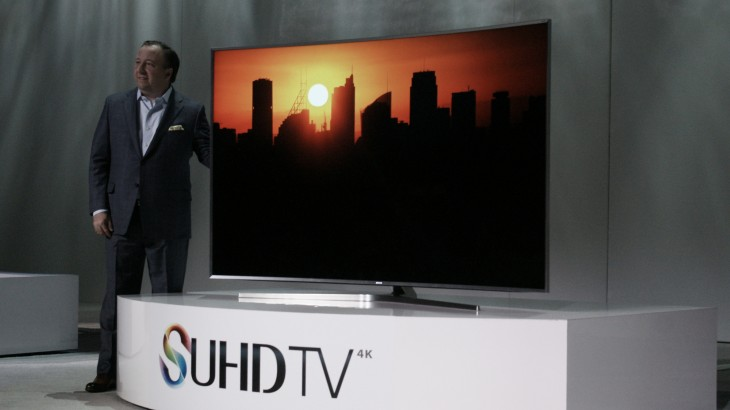 3D TVs are dead at CES 2015 with the fight moving to 4K and curved displays