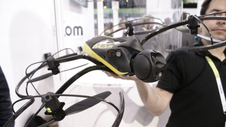 The Parrot eXom drone helps keep bridges from collapsing