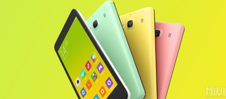 Xiaomi announces the $112 Redmi 2 smartphone, a tweaked version of the popular Redmi 1S