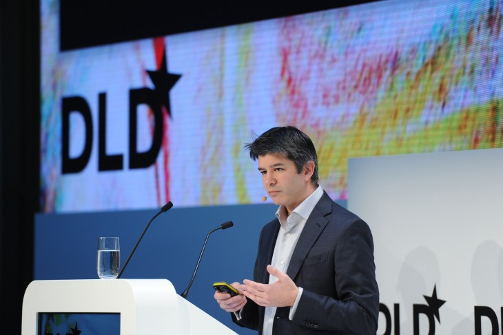Uber's Travis Kalanick promises 50,000 European jobs in 2015 if regulators play nice