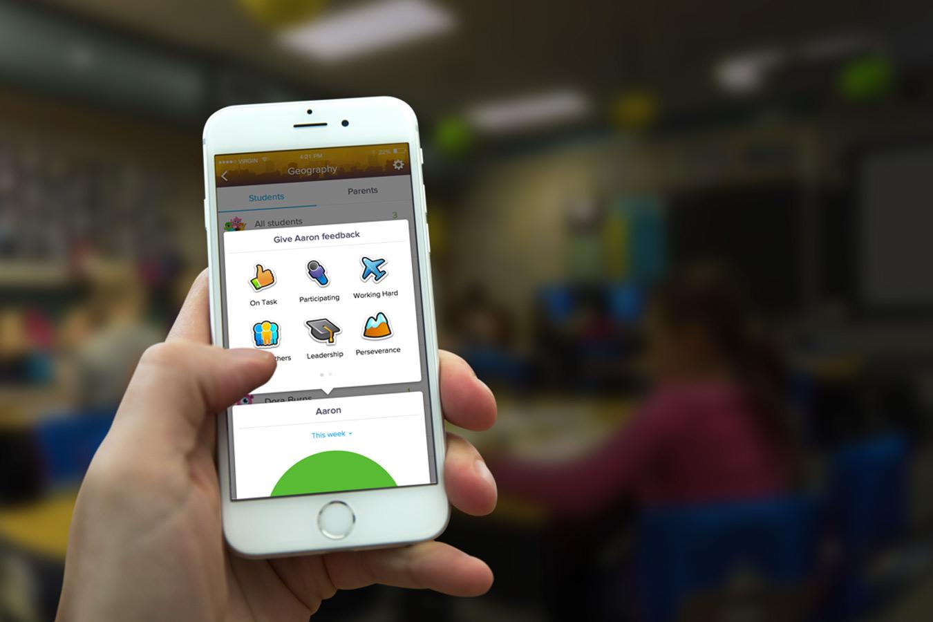 ClassDojo Now Helps Teachers, Parents and Students