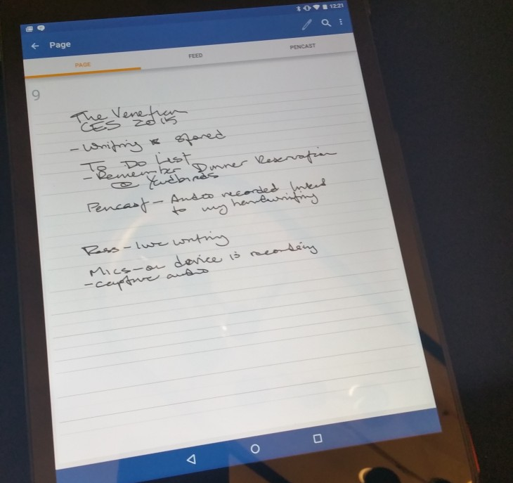 Hands-on: Livescribe 3's upcoming Android app is built with Material Design in mind