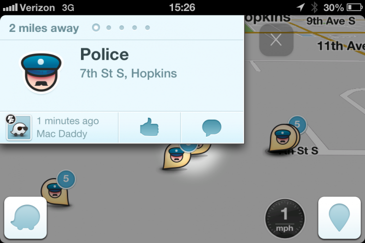 Google's Waze is a 'stalking app,' claim US police