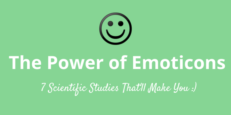 7 reasons to use emoticons in your writing and social media, according to science