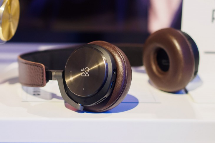 Hands-on: B&O's first wireless noise-canceling headphones are gesture-controlled stunners