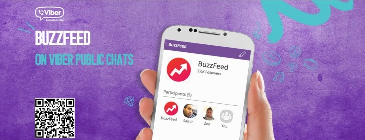 Viber and BuzzFeed partner to give readers a line to the editorial team