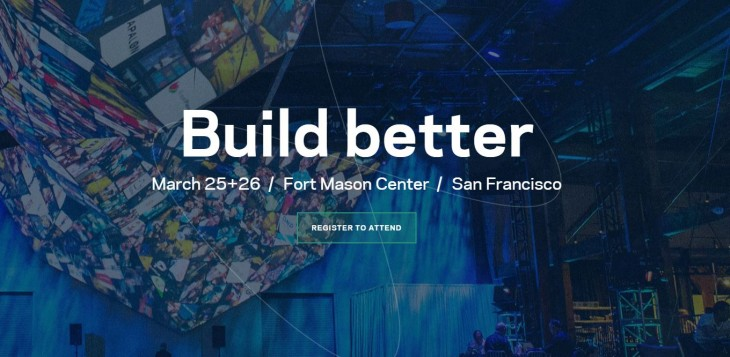 Registration for Facebook's F8 developer conference is open now