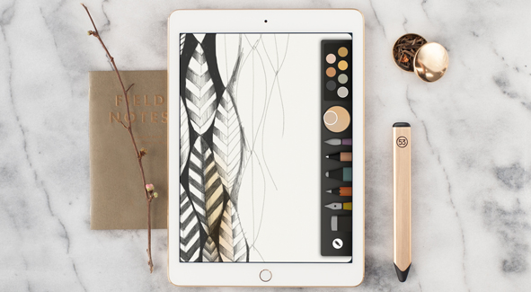 FiftyThree Goes Gold (Tone) With Its New Tablet Stylus