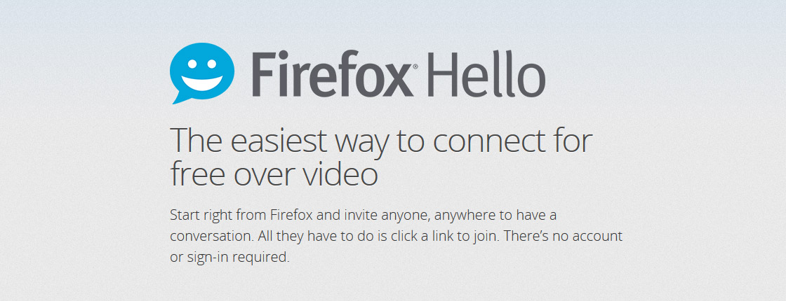 Firefox 35 Brings Improved Cross-browser Video Chat