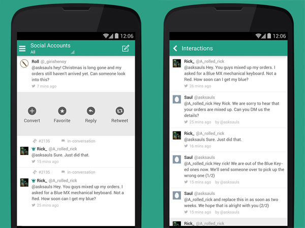 FreshDesk Android 2