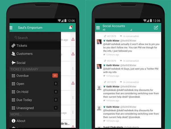 FreshDesk Android