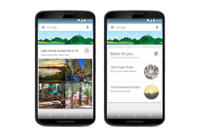 Google Now introduces support for information cards from 40 new apps