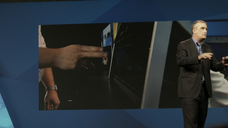 Intel is working on a touch-sensitive holographic display