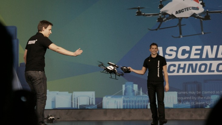 Intel's RealSense makes drones smarter, stops them running into people