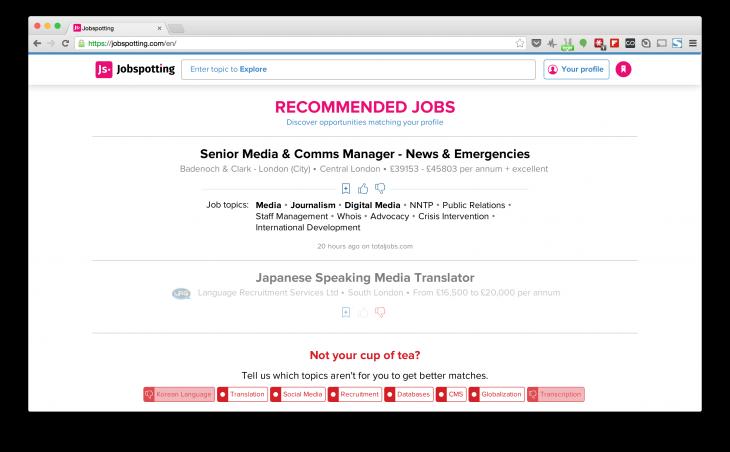 Jobspotting