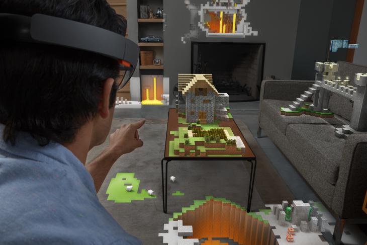 Microsoft HoloLens Family Room RGB