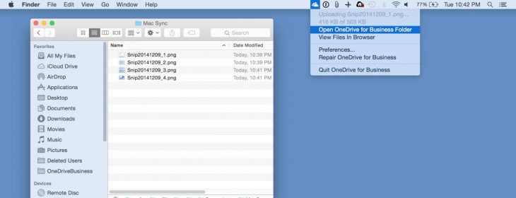 OneDrive for Business comes to OS X and iOS