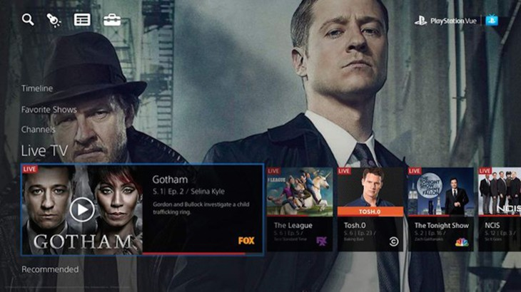 Sony's PlayStation Vue streaming TV service launching in the US within two weeks