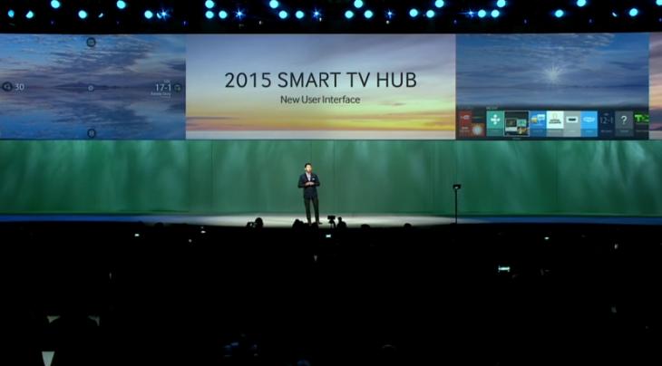 All of Samsung's 2015 Smart TVs Will Run Tizen OS