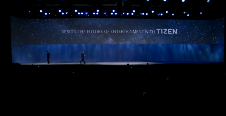 All of Samsung's 2015 Smart TVs will be powered by Tizen